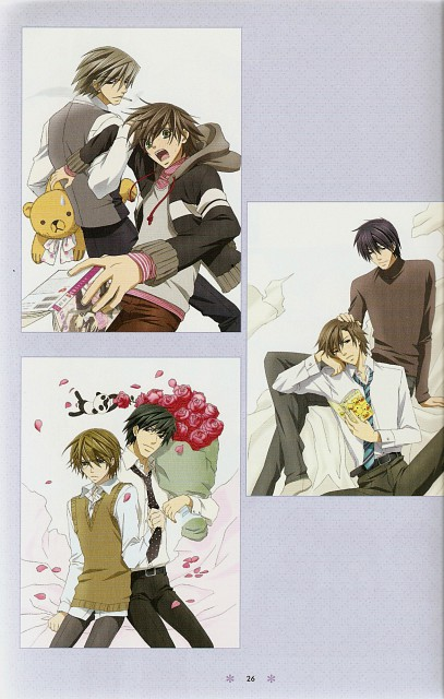Shungiku Nakamura, Junjou Romantica, Misaki Takahashi, Nowaki Kusama, Hiroki Kamijou
