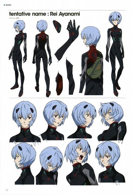Khara, Gainax, Neon Genesis Evangelion, Evangelion 3.0 Theatrical Booklet, Rei Ayanami