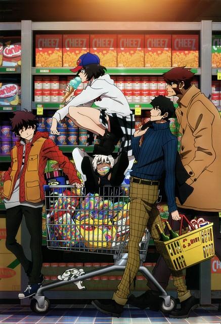 Yasuhiro Nightow, Kekkai Sensen, Steven A. Starphase, Zapp Renfro, Chain Sumeragi