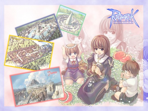 Ragnarok Online, Priestess (Ragnarok Online) Wallpaper