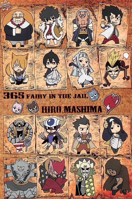 Hiro Mashima, Fairy Tail, Zeref, Kyouka, Angel (Fairy Tail)