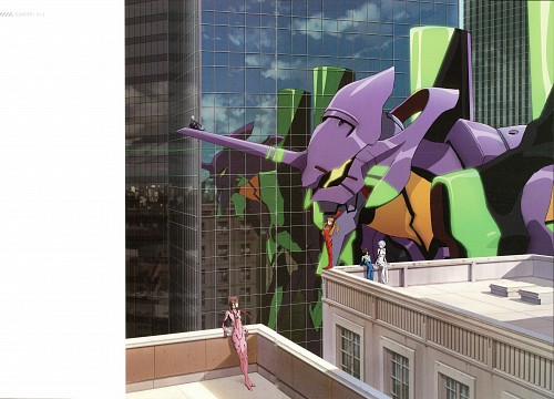 Gainax, Neon Genesis Evangelion, Kaworu 2015, Makinami Mari Illustrious, Asuka Langley Soryu