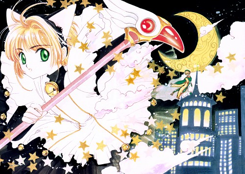 CLAMP, Cardcaptor Sakura, Cardcaptor Sakura Illustrations Collection 3, Sakura Kinomoto, Syaoran Li