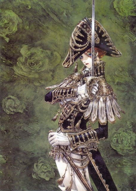 Shibamoto Thores, Gonzo, Trinity Blood, Mary Spencer