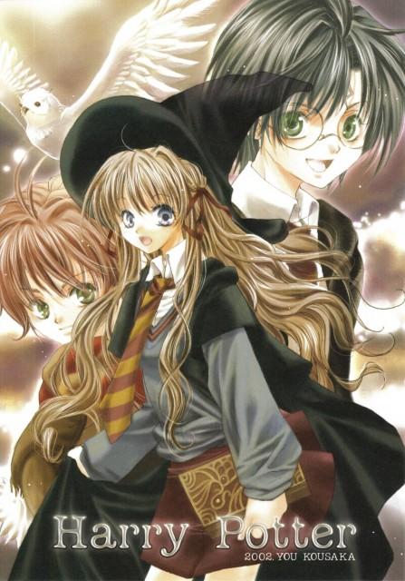 You Kousaka, Harry Potter, Harry Potter (Character), Hermione Granger, Ron Weasley