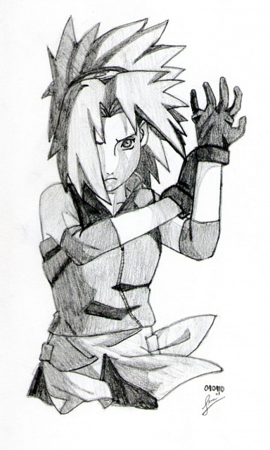 Naruto, Traditional Illustration, Sakura Haruno, Member Art