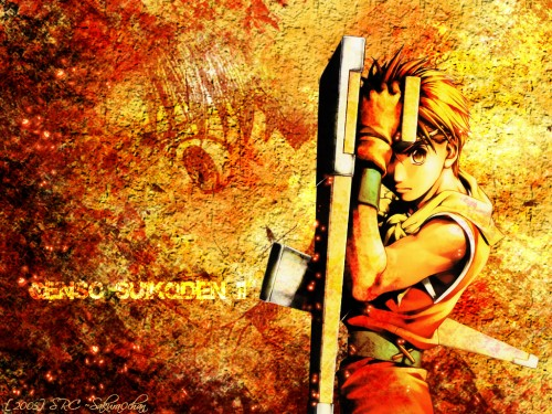 Suikoden II, Riou Wallpaper