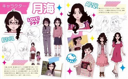 Akiko Higashimura, Brains Base, Kuragehime, Tsukimi Kurashita, Character Sheet