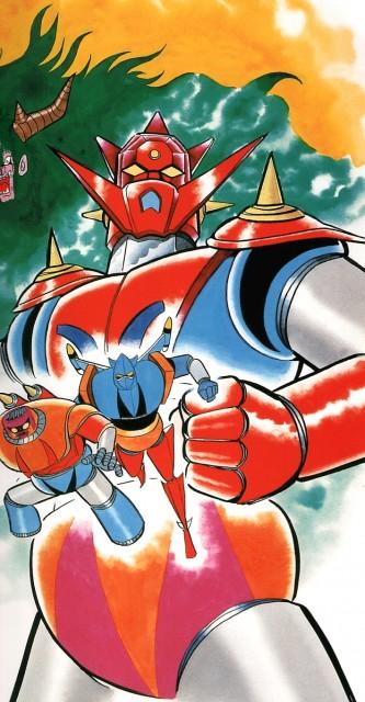 Go Nagai, Toei Animation, Getter Robo