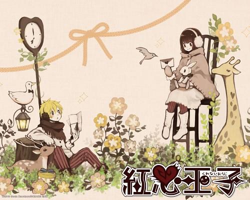Souta Kuwahara, Kurenai Ouji, Koujirou Sakura, Hana Koumeda, Official Wallpaper
