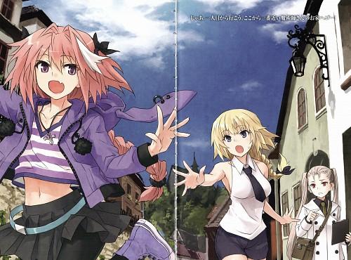 Ototsugu Konoe, TYPE-MOON, Fate/Apocrypha, Joan of Arc, Astolfo