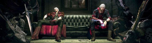 Capcom, Devil May Cry, Nero, Dante