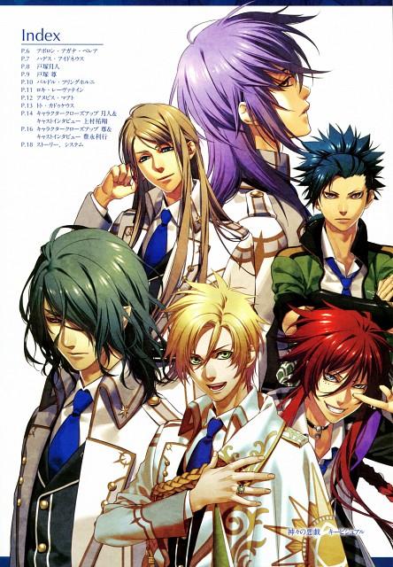 Yone Kazuki, Brains Base, Broccoli, Kamigami no Asobi, Takeru Totsuka