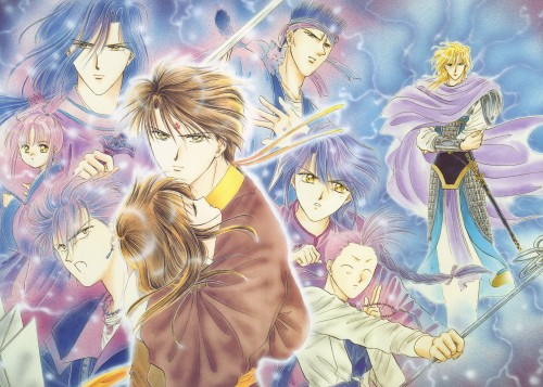 Yuu Watase, Fushigi Yuugi, Watase Yuu Illustration Collection Part 2, Chichiri, Nakago