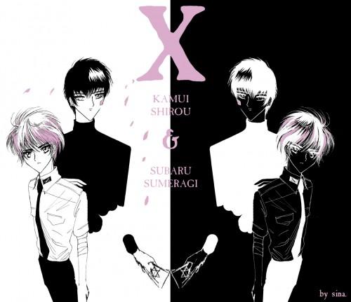 Kamui Shirou And Subaru Sumeragi Tokyo Revelations: X: Kamui And Subaru