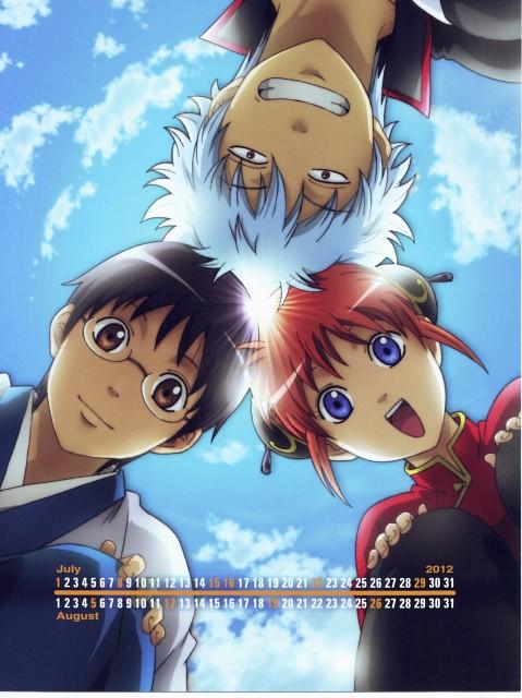 Hideaki Sorachi, Sunrise (Studio), Gintama, Kagura, Shinpachi Shimura