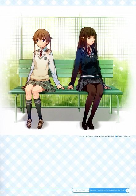 Shizuki Morii, Memories Off Complete Illustrations 2011-2013, Memories Off, Chinatsu Amakawa, Kasumi Nagumo