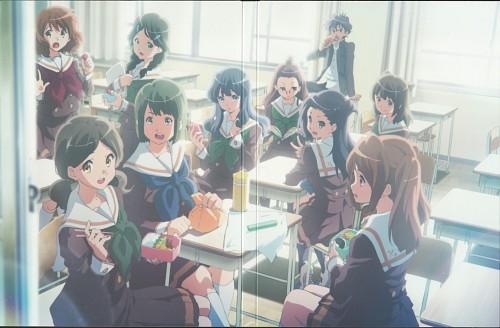 Shouko Ikeda, Pony Canyon, Kyoto Animation, Hibike! Euphonium, Natsuki Nakagawa