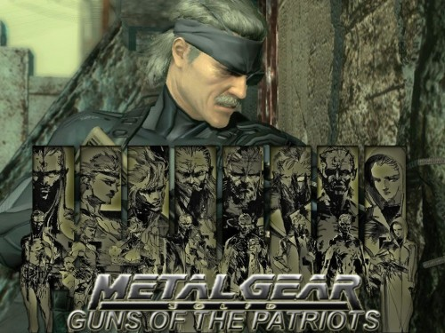 Konami, Metal Gear Solid, Solid Snake, Raiden Wallpaper