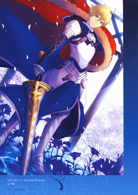 Nakahara, TYPE-MOON, Fate/Prototype, TYPE-MOON 10th Anniversary Phantasm, Archetype Saber