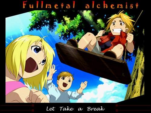 Hiromu Arakawa, BONES, Fullmetal Alchemist, Edward Elric, Winry Rockbell Wallpaper
