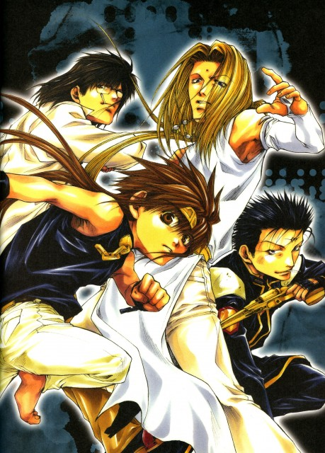 Kazuya Minekura, Saiyuki Gaiden, Salty Dog III, Konzen Douji, Son Goku (Saiyuki)