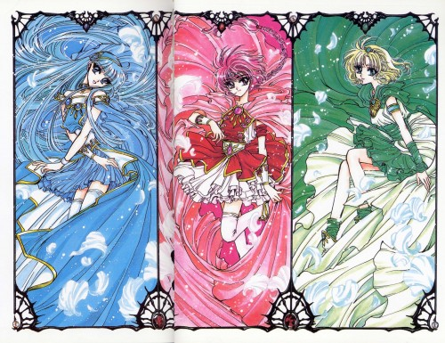 CLAMP, TMS Entertainment, Magic Knight Rayearth, Magic Knight Rayearth 2 Illustrations Collection, Hikaru Shidou