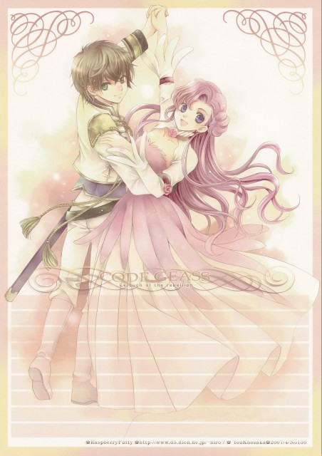 You Kousaka, Lelouch of the Rebellion, Suzaku Kururugi, Euphemia Li Britannia, Doujinshi
