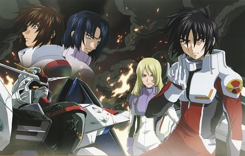 Hisashi Hirai, Sunrise (Studio), Mobile Suit Gundam SEED Destiny, Mobile Suit Gundam Seed & Seed Destiny Pinup Collection, Athrun Zala