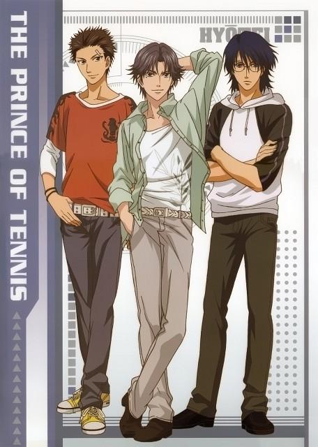 Takeshi Konomi, J.C. Staff, Prince of Tennis, Ryo Shishido, Yushi Oshitari