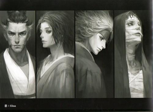 Elna, Sengoku Basara, Motonari Mouri, Motochika Chosokabe (Sengoku Basara)