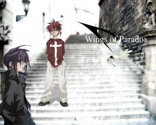Yukiru Sugisaki, Xebec, D.N.Angel, Dark Mousy, Daisuke Niwa Wallpaper