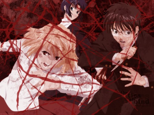 TYPE-MOON, Melty Blood, Shingetsutan Tsukihime, Ciel (Shingetsutan Tsukihime), Arcueid Brunestud Wallpaper