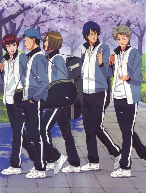 Takeshi Konomi, J.C. Staff, Prince of Tennis, Yushi Oshitari, Haginosuke Taki