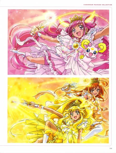 Toei Animation, Smile Precure!, Kawamura Toshie Toei Precure Works, Cure Happy, Cure Sunny