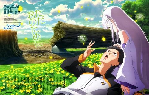 Kyuuta Sakai, White Fox, Re:Zero, Emilia (Re:Zero), Subaru Natsuki