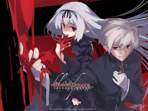 Blood Opera, Official Wallpaper