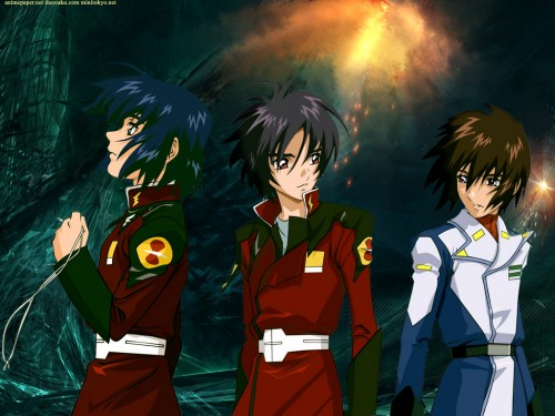 Sunrise (Studio), Mobile Suit Gundam SEED Destiny, Athrun Zala, Shinn Asuka, Kira Yamato Wallpaper