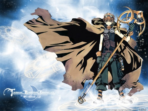 CLAMP, Tsubasa Reservoir Chronicle, Syaoran Li Wallpaper