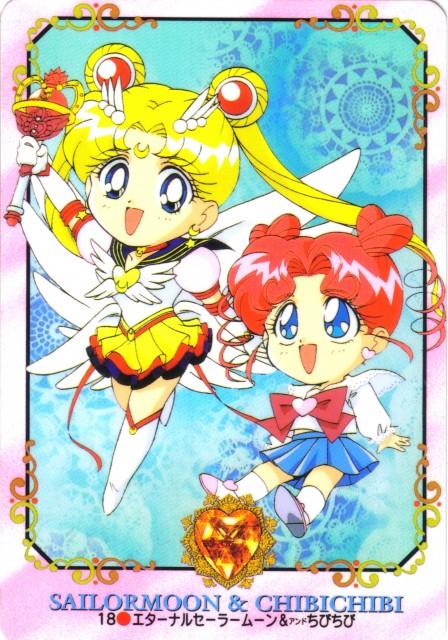 Toei Animation, Bishoujo Senshi Sailor Moon, Eternal Sailor Moon, Chibi Chibi, Trading Cards