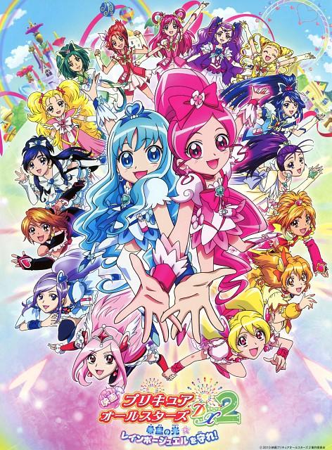Toei Animation, Precure All Stars, Precure Pia, Cure White, Cure Berry