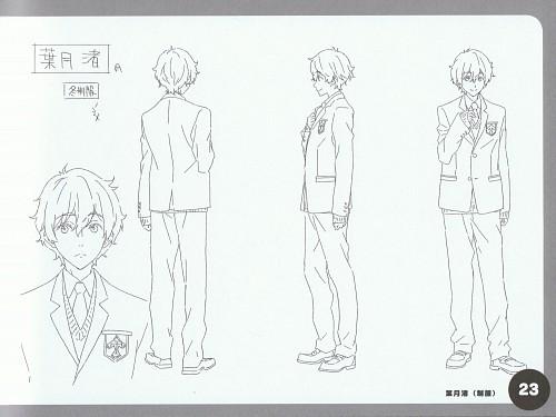 Kyoto Animation, Free!, Nagisa Hazuki, Character Sheet