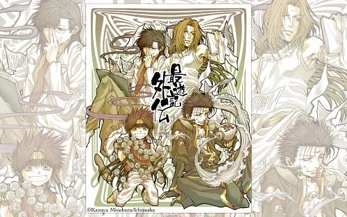Kazuya Minekura, Saiyuki Gaiden, Tenpou Gensui, Konzen Douji, Son Goku (Saiyuki)