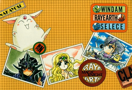 CLAMP, Magic Knight Rayearth, Emeraude, Rayearth (Character), Mokona