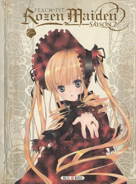Peach-Pit, Studio Nomad, Rozen Maiden, Shinku, Manga Cover