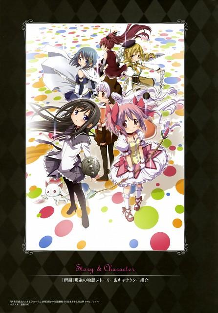Shaft (Studio), Puella Magi Madoka Magica, Kyubey, Nagisa Momoe, Kyouko Sakura