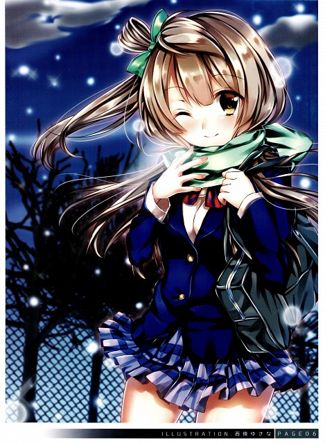 Yukina Saijou, Sunrise (Studio), K's Love, Love Live! School Idol Project, Kotori Minami