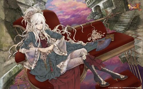 Yukito (Mangaka), Square Enix, Gakuen Kakumeiden Mitsurugi Nakayoshi, Mitsurugi Chiruchiru, Official Wallpaper