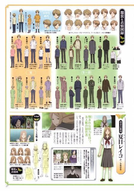 Yuki Midorikawa, Brains Base, Natsume Yuujinchou, Memories Book Atatakai Jinkan, Takashi Natsume