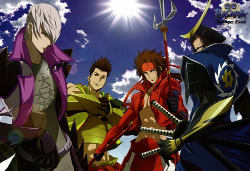 Capcom, Telecom Animation Film, Sengoku Basara, Yukimura Sanada, Masamune Date